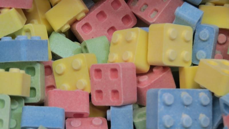 Centres de tables LEGO 11