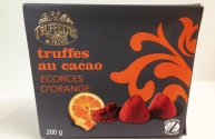 Truffes au Cacao Écorces d'Orange Sans Gluten