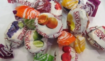 Bonbon aux fruits centre mou